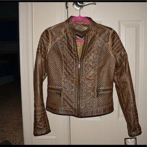 NEW 100% Vegan Leather Jacket